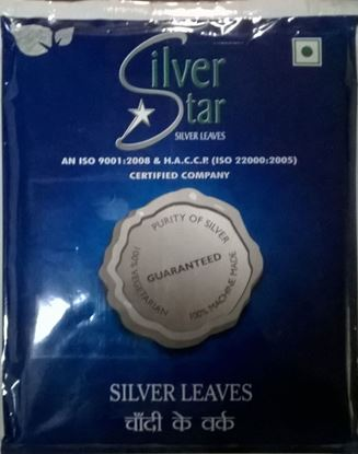Picture of Edible Silver Leaf (150 Pages)