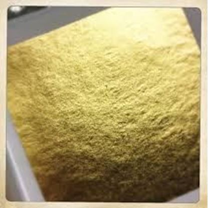 """Picture of Edible Gold Leaf 6""""X4"""" (4 Pages)"""